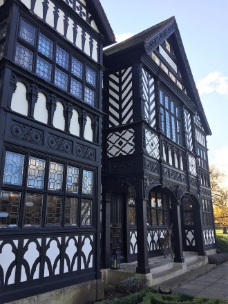 Paris House tudor style building