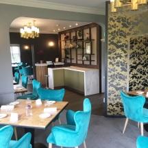 The newly refurbished Paris House Restaurant