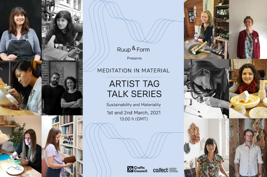 Ruup & Form's Artist Tag Talk Series: 1st and 2nd March, 2021 | 13:00h